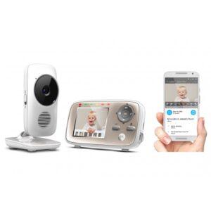 Бебефон с камера Motorola  MBP667  Wi-Fi