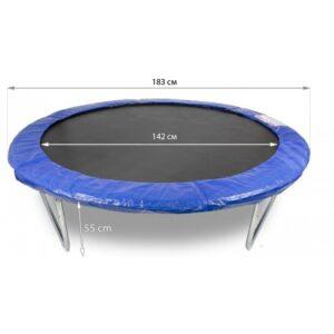 Детски Батут с мрежа Buba 183 см + стълба