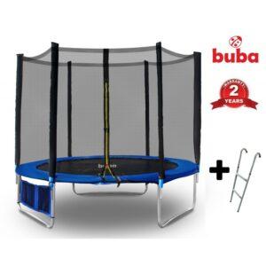 Детски Батут с мрежа Buba 366см + стълба