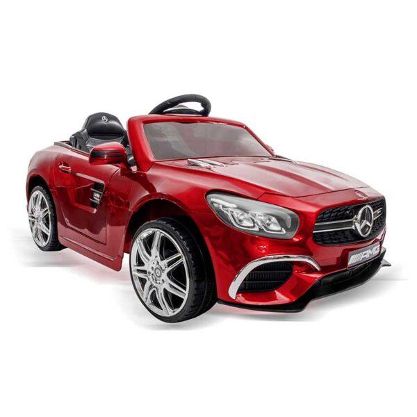 MONI - Акумулаторна кола Mercedes SL63 металик