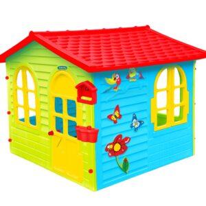 Голяма детска къща с дъска за рисуване 12241