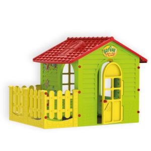Детска малка къща с ограда – 10839