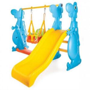 Пързалка за деца с люлка 152см