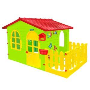 Къща с ограда и Дъска за рисуване 12243