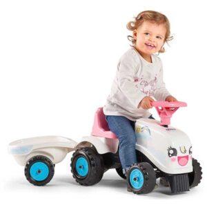 Бебешки трактор с ремарке Falk Rainbow
