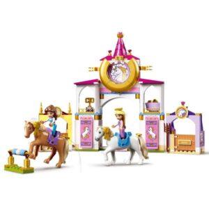 LEGO® Disney Princess 43195 – Кралските конюшни на Бел и Рапунцел
