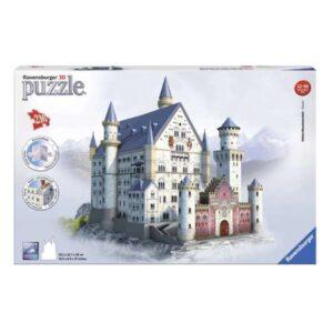 3D Пъзел Ravensburger 216 елемента – Замъкът Нойшванщайн