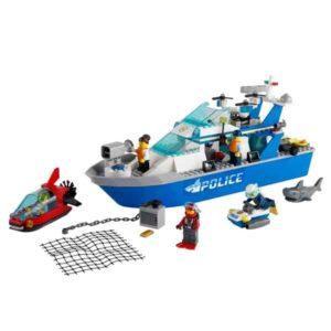 LEGO® City Police 60277 – Полицейска патрулна моторница