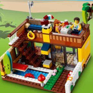 LEGO Creator 31118 – Плажна къща за сърф